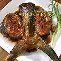 Món ngon mỗi ngày: Cách làm cá thu chiên sốt me ngon tuyệt vời   Nauankhongkho.vn