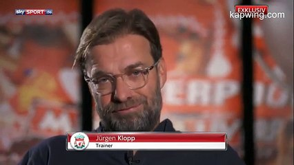 Klopp interview with German TV