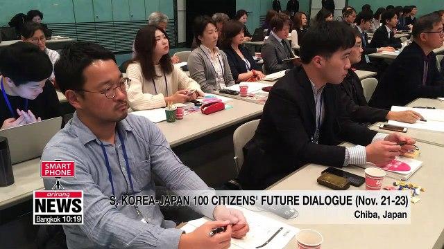 100 civilians from S. Korea, Japan discuss ways to develop future-oriented ties