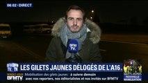 Gilets jaunes: la nuit a été très agitée sur l'autoroute A16 dans le Pas-de-Calais