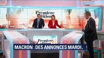 Emmanuel Macron: des annonces mardi