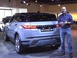 Découverte du Land Rover Range Rover Evoque (2018)
