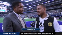 Boxing Champion Errol Spence Jr. Support His favorite team on Thanksgiving Day, The Dallas Cowboys