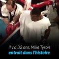 Boxe:  Mike Tyson , la légende vivante