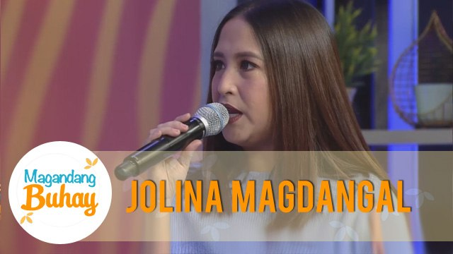 Magandang Buhay: Momshie Jolina reminisces her unforgettable moment with Rico J.