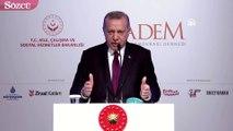 """Erdoğan: """"Kadın kadın ile koşar, erkek erkekle koşar"""""""