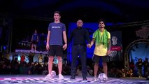 Roberto Carlos judges at Red Bull Street Style World Final