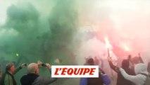 Les Verts en route pour Lyon - Foot - L1 - ASSE