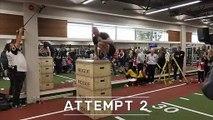 Record du monde de saut en hauteur sur une jambe
