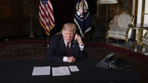 Trump criticizes federal judiciary, slams southern border situation