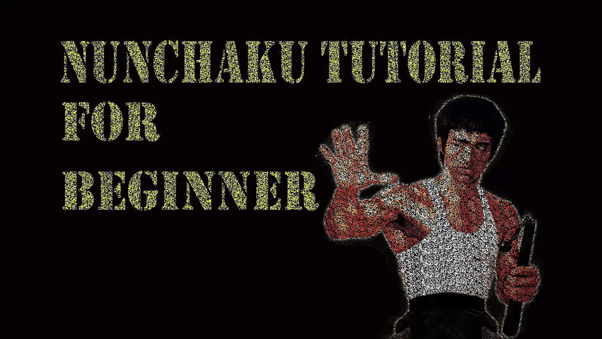 Nunchaku Wrist Front Roll Tutorial (Basic front Wrist Roll) part # 3 in [Hindi - हिन्दी]
