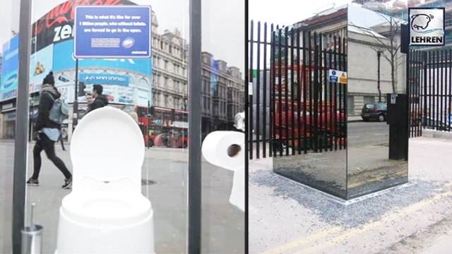 Would You Dare To Use This See-Through Toilets?