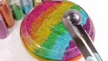 Kinetic Sand Colors Heart Cake Toys DIY Learn Colors Glitter Slime Clay Icecream