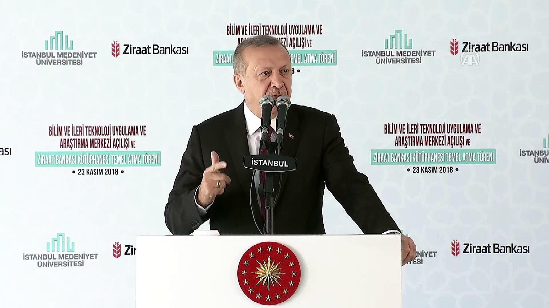 Erdoğan: 'Cumhurbaşkanlığı Külliyemizin içinde 5 milyon cildi ihtiva edecek dev bir kütüphaneyi