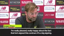 Eng Sub: Mane contract extension makes a 'statement' for Liverpool, says Klopp