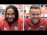 Albania v Wales - Ashley Williams & Chris Gunter Pre-Match Press Conference - International Friendly