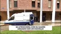 Un hombre se atrinchera durante varias horas en su vivienda en San Sebastián