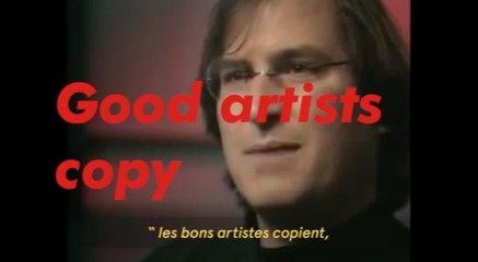 Good artists copy, great artists steal - Marguerite de Bourgoing - #CreatorsNetwork