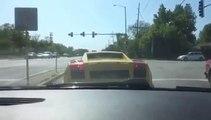 Il sort sa Lamborghini toute neuve mais ne sais pas conduire... FAIL