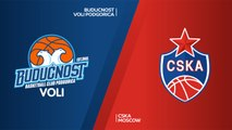 Buducnost VOLI Podgorica - CSKA Moscow Highlights | Turkish Airlines EuroLeague RS Round 9