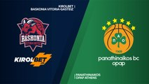 KIROLBET Baskonia Vitoria-Gasteiz - Panathinaikos OPAP Athens Highlights | Turkish Airlines EuroLeague RS Round 9