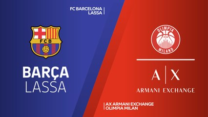 EuroLeague 2018-19 Highlights Regular Season Round 9 video: Barcelona 90-80 AX Milan