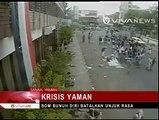 Detik-Detik Bom Bunuh Diri Terekam CCTV