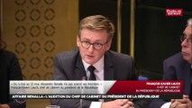 François-Xavier Lauch ne souhaite pas s'exprimer sur le bulletin de salaire d'Alexandre Benalla