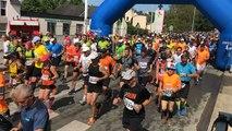 Départ du 44e semi-marathon Auray-Vannes, 1ère partie