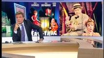"""Interview Julie Depardieu/Michel Fau à l'affiche dans """"Fric-Frac"""""""