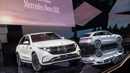 Mercedes EQC: World Premiere of Electric SUV EQC in Stockholm