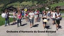 Le Grand-Bornand (Haute-Savoie) : l'orchestre d'harmonie s'envole pour Shanghai