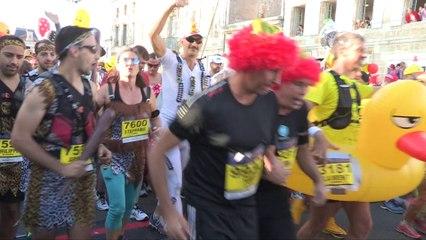 Replay-Départ au sol N° 1-Marathon du Medoc 2018