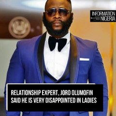 STOP ASKING GUYS FOR IPHONES, ASK FOR LANDS AND LOANS – JORO OLUMOFIN ADVISES NIGERIAN LADIES