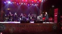 Ferhat Göçer, Trakya Bağ Bozumu ve Ekoloji Festivali'nde Konser Verdi