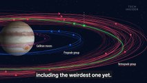 Astronomers just discovered 12 moons orbiting Jupiter. Here's why that plant has so many moons.