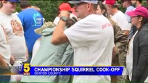 World Champion Squirrel Cook-Off Raises Money for First Responders, Veterans