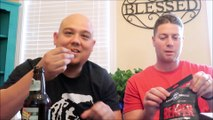 CAROLINA REAPER HOT PEPPER BEEF JERKY CHALLENGE BY SAVAGE & CO WITH DELZ AND CHRIS