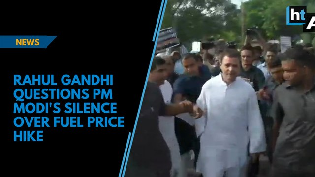 Bharat Bandh: Rahul Gandhi questions PM Modi's silence over fuel price hike