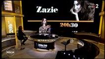 Zazie invitée de 20h30 le dimanche