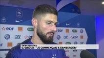 La réaction de Giroud à l'issue de la rencontre