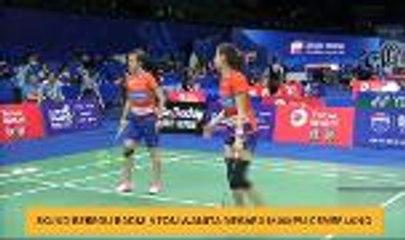 Skuad beregu badminton wanita negara mampu cemerlang