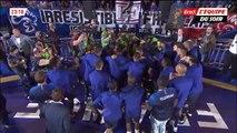 N'Golo Kanté acclamé par les supporters et joueurs français au Stade de France (9/9/2018)