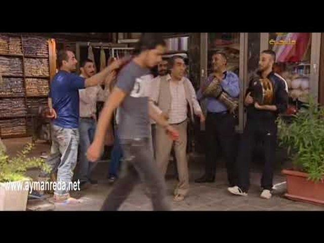 مسلسل أبو جانتي ـ أبو ليلى يغني طاق طاق طاقية ـ أيمن رضا ـ أدهم مرشد  ـ
