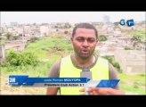 RTG/Les jeunes du club action 3.1 vont à la rescousse des populations du quartier montagne 7 camp de police en nettoyant ce quartier