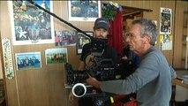 """Tournage documentaire """"Boutiques obscures"""" de Patrice Leconte"""
