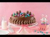 Pastel de Conejito de Chocolate | Cute Bunny Chocolate Cake