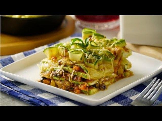 Lasaña Vegetariana de Calabacitas