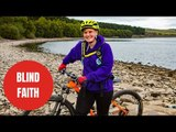 Blind woman is believed to be the first in the UK to cycle a massive bike trail independently