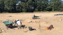 Fouilles archéologiques à Brestivan
